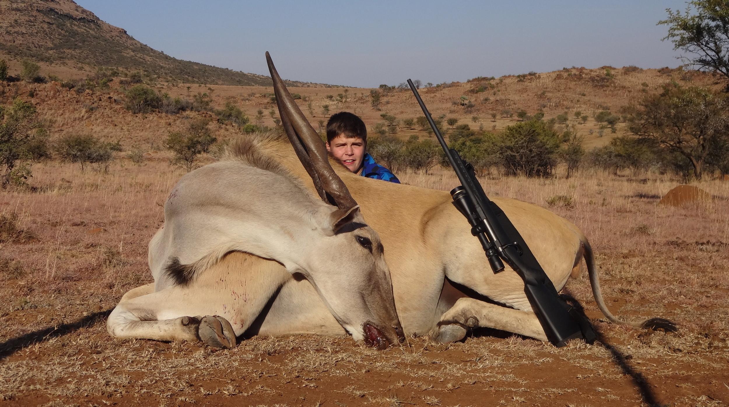 Eland Taken With Jard Trigger