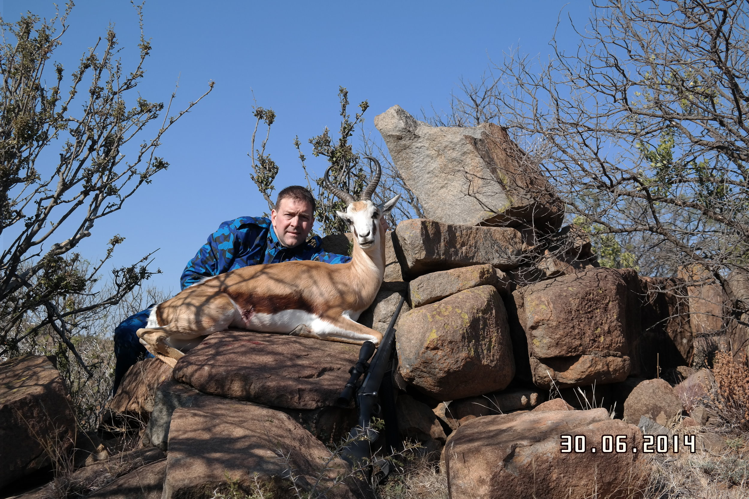 Springbok Taken With Jard Trigger