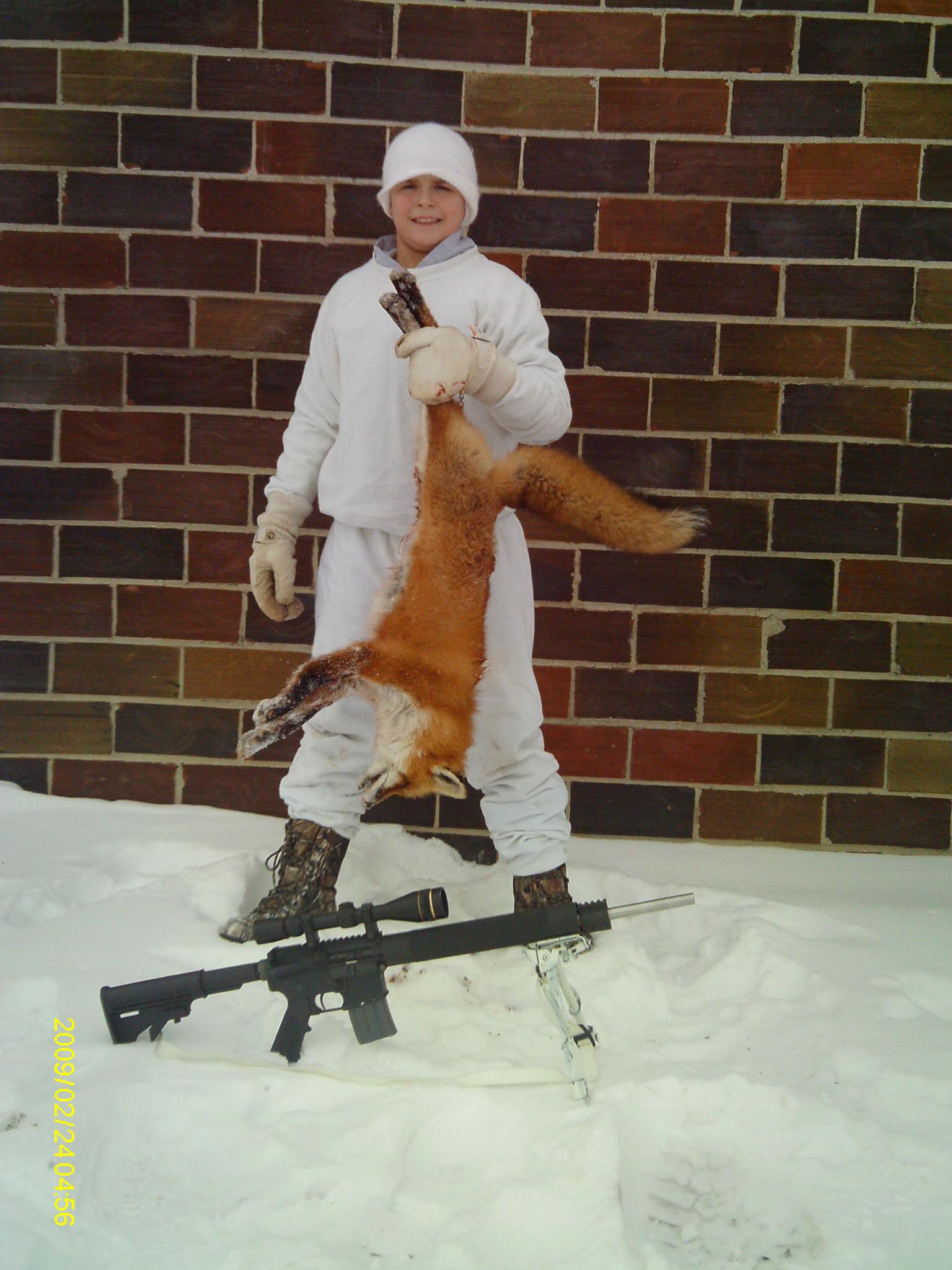 Fox Taken With Jard Trigger