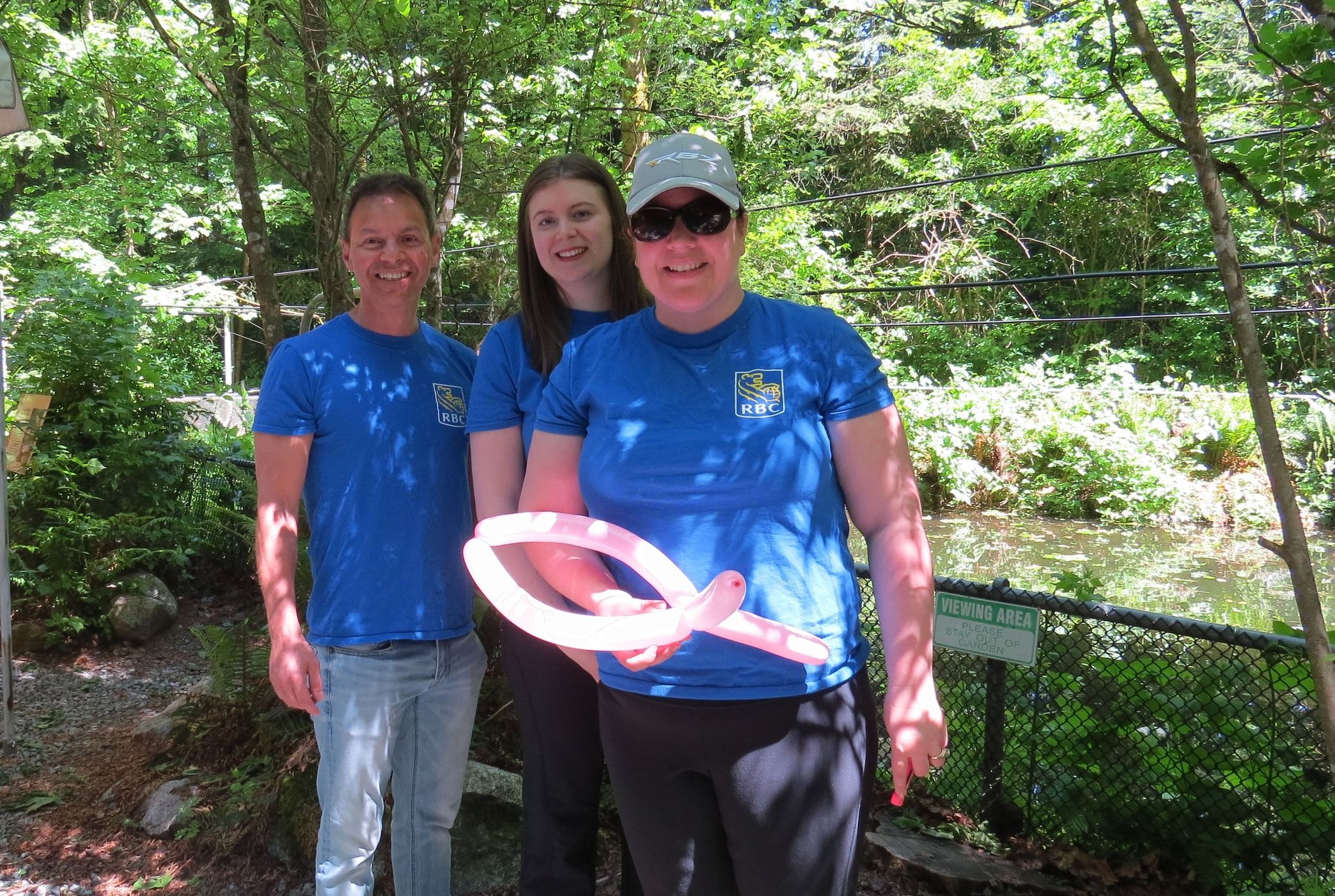 RBC Smolt Release - May 25th 2017RBC Help with Smolt Release. Thanks to Serena, George and Jen for helping us move salmon smolts from the rearing pond to mouth of Hyde Creek. Due to summer drying sections of the creek in recent years, smolts are not released at the hatchery.