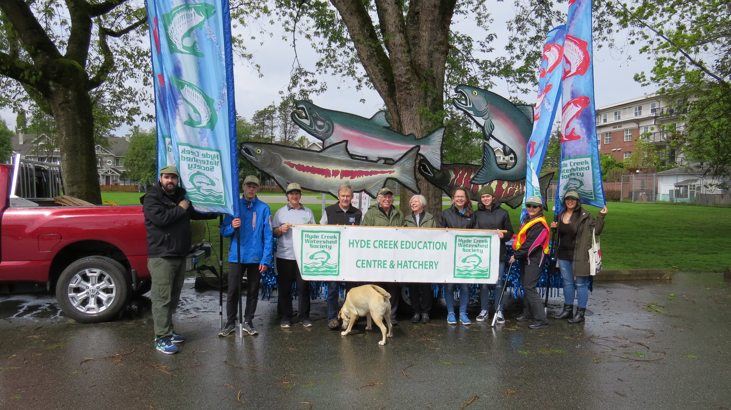 May Day Parade - May 13 2017The day began with showers. By parade time the sun was shining and another great event. Thank you to the members and students who came out to set up and walk in the parade.