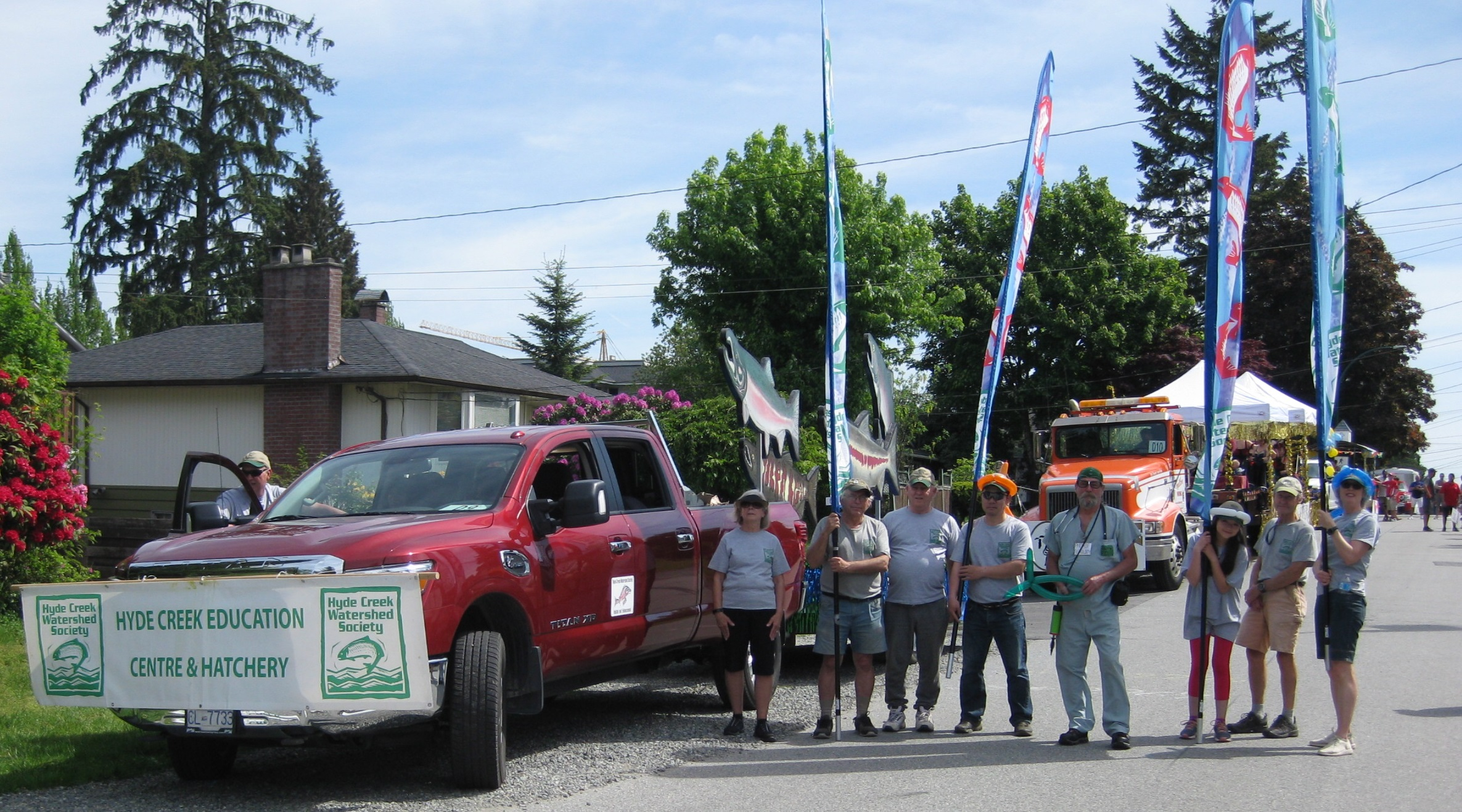 May Day Parade - May 11th, 2019Members joined the HCWS float in Port Coquitlam's May Day Parade.