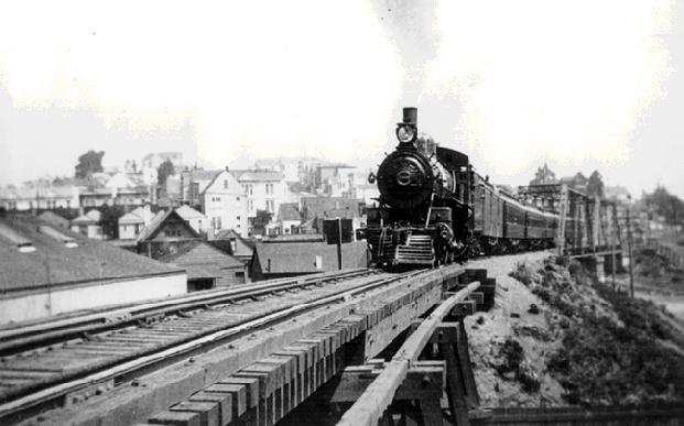 train bridge over dolores street, circa 1920       image: foundsf.org