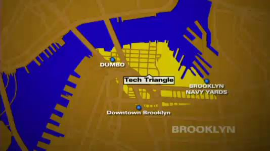 "THE ""TECH TRIANGLE"" AND ITS PHYSICAL BARRIERS            IMAGE:   BKMAG.COM"