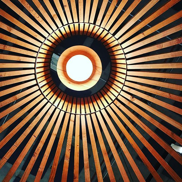Pavilion ceiling at the Museum of Craft and Design. #myperspective #design #archdaily #archidaily #archiporn #architexture #architecture #archilovers #architecturelovers #architags @museumofcraftanddesign #dogpatchsf #nowrongwaysf #wildbayarea #wildcalifornia #onlyinsf #igerssf #pavilion