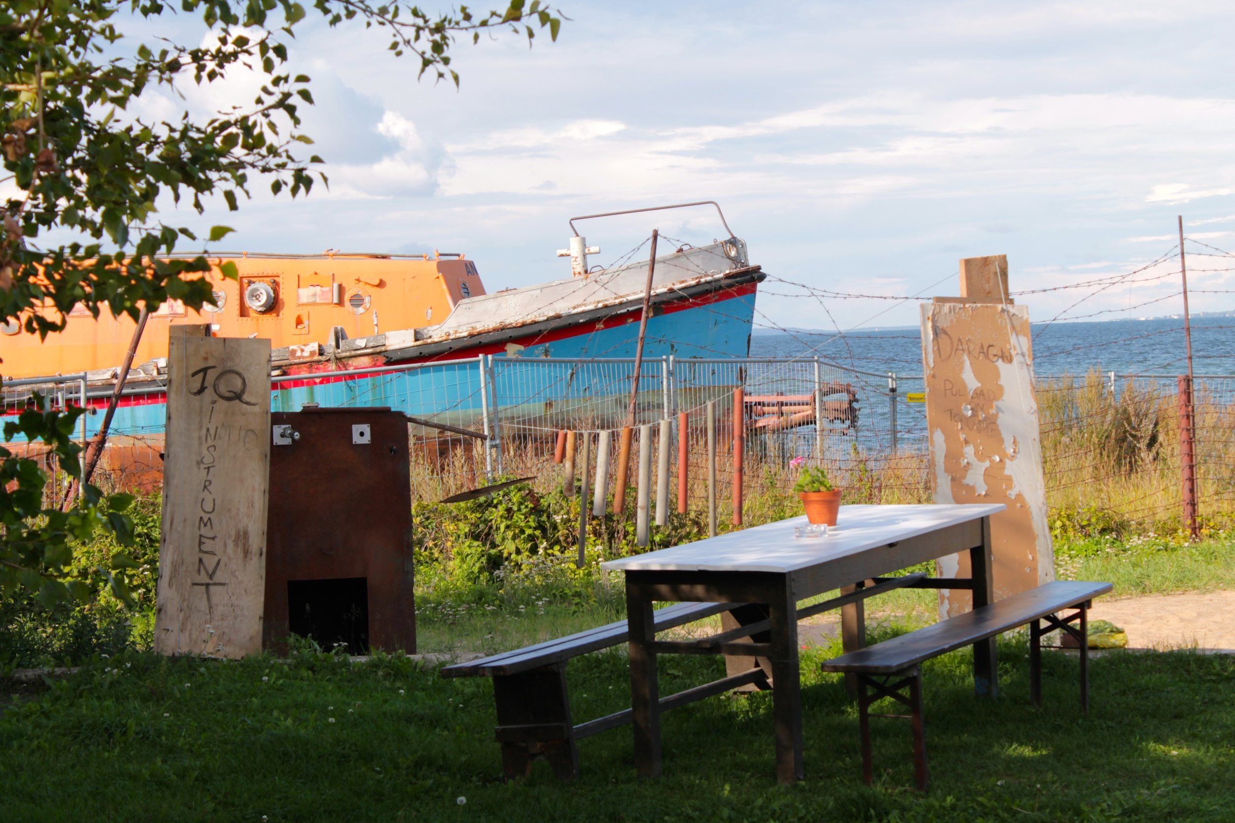 beach cafe    in Patarei