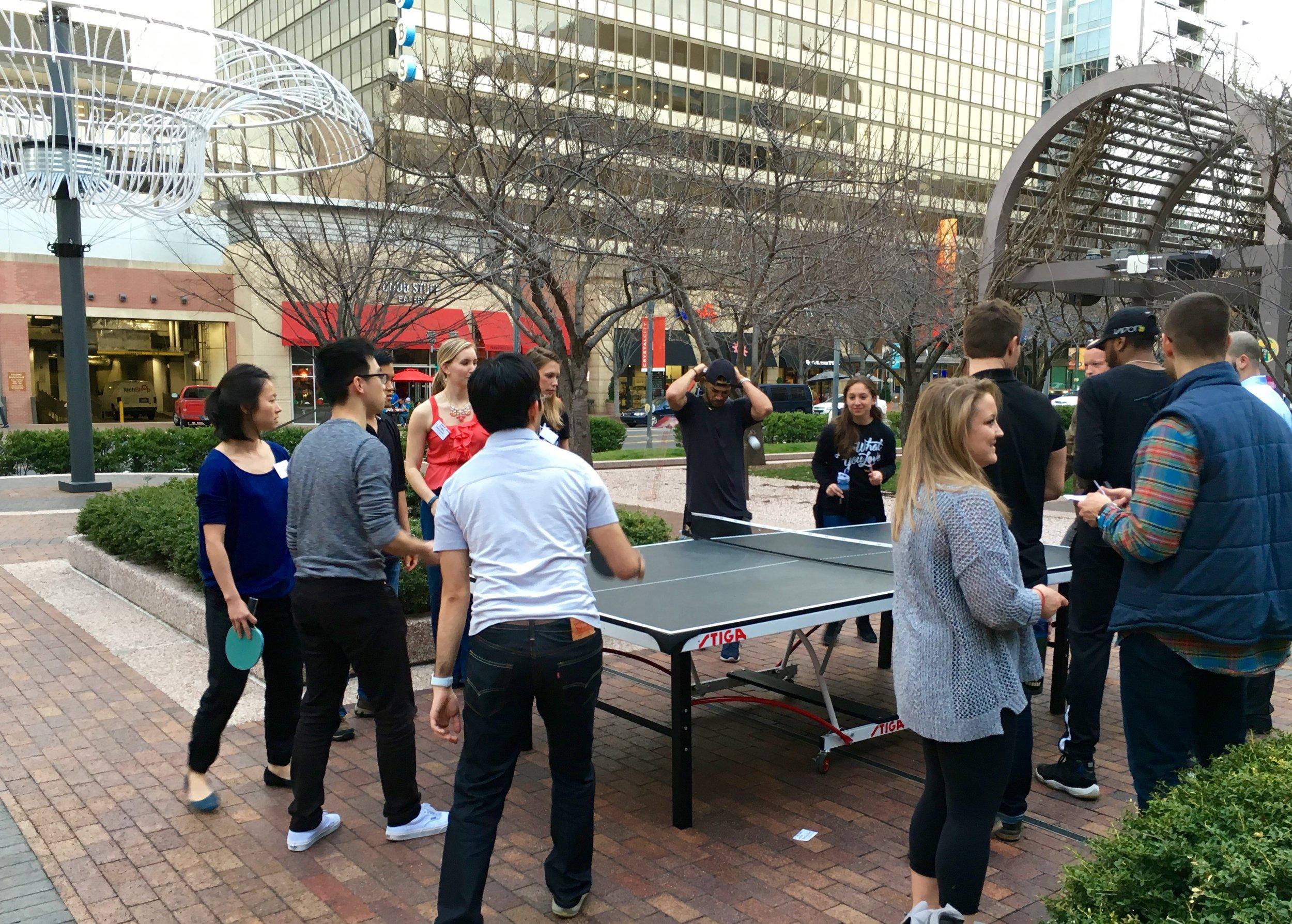 Sunset Ping Pong