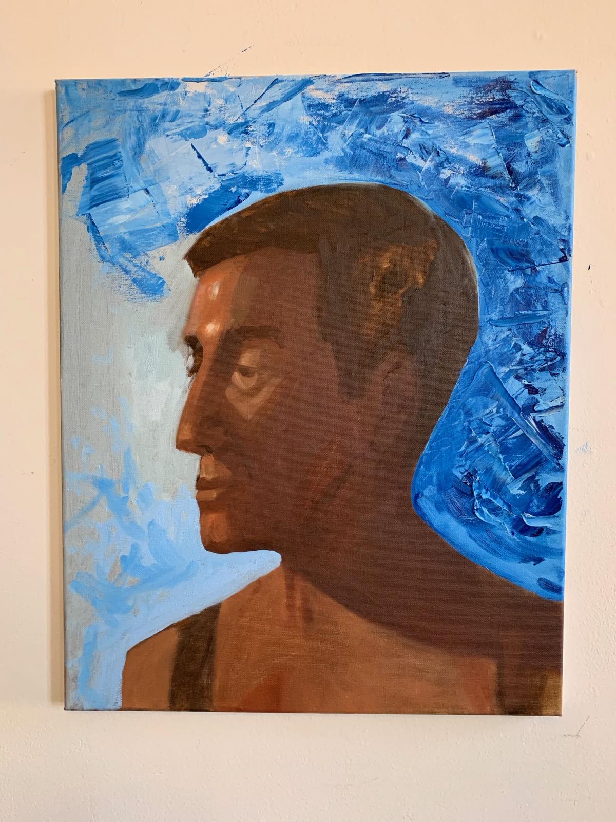 1st Portrait by Stephanie Echeveste, from Manu Saluja's class (1st session)