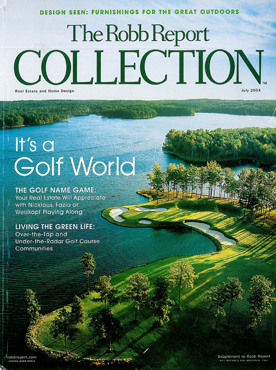 Robb Report, July 2004