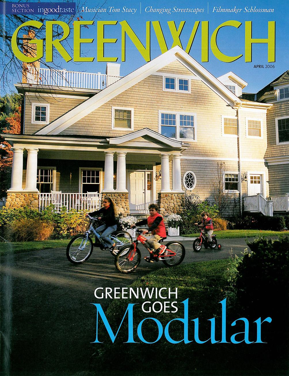 Greenwich Magazine, April 2006