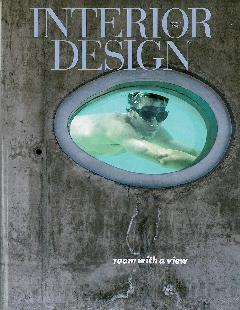 Interior Design Magazine, November 2009