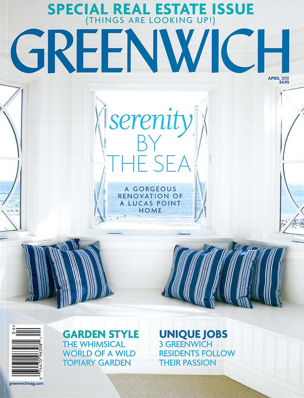 Greenwich Magazine, April 2010