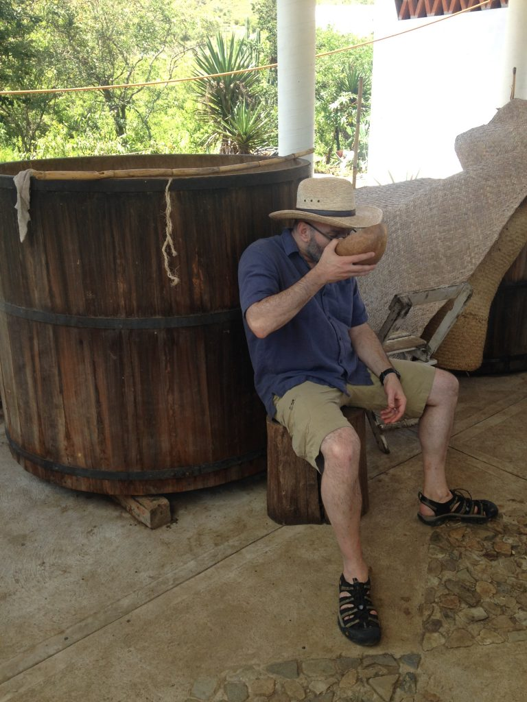 Lou sampling in the palenque