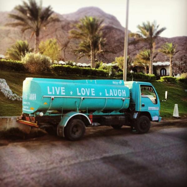 Live Love Laugh truck Dahab