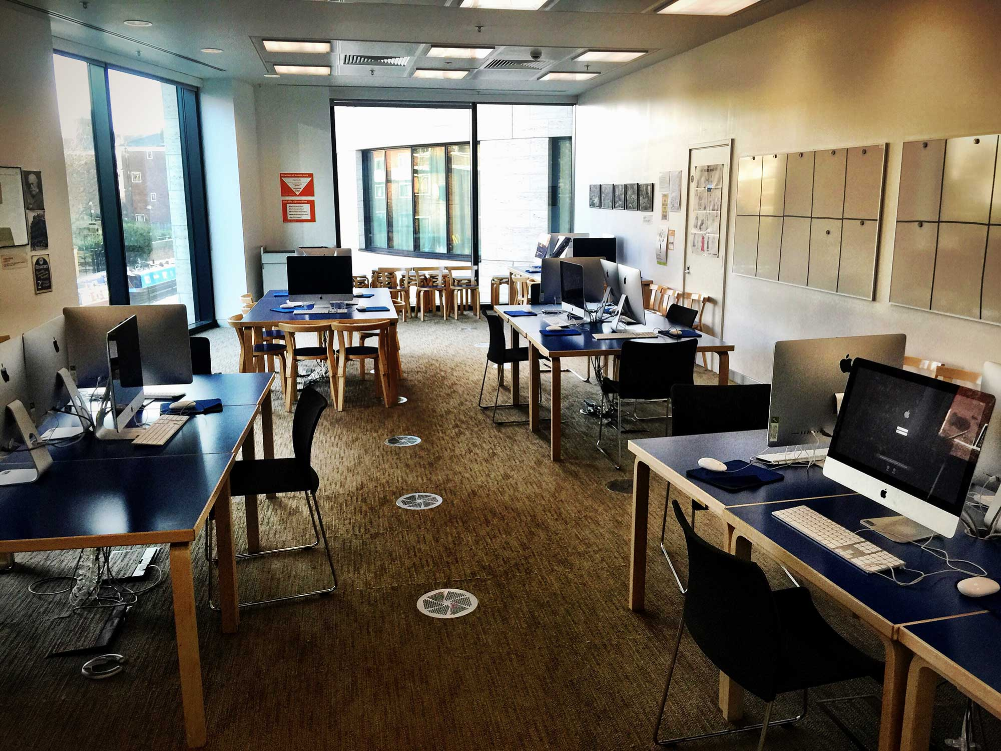 Guardian Masterclasses Education Room