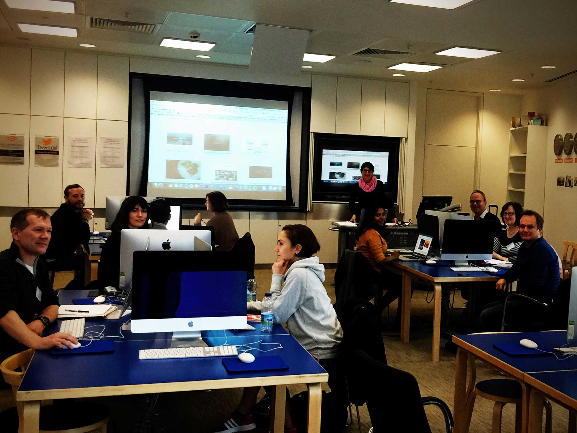 Guardian Masterclasses and Squarespace