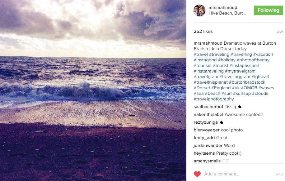Mrs Mahmoud Instagram