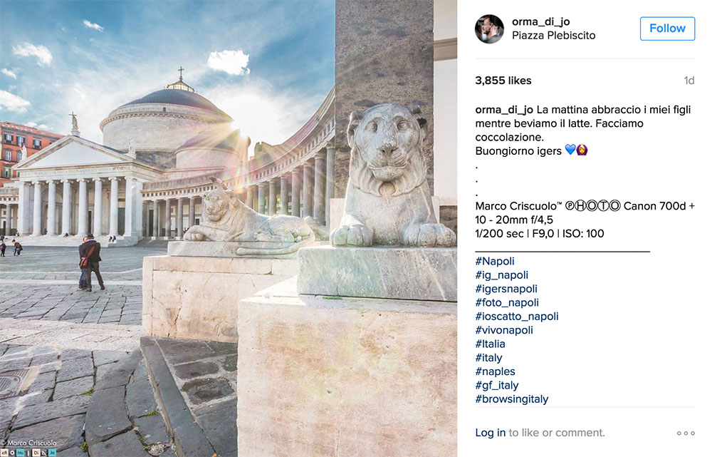 Marco Criscuolo Instagram