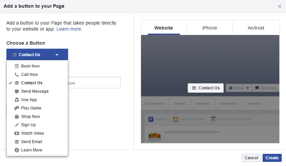 Facebook For Business Creating A Page