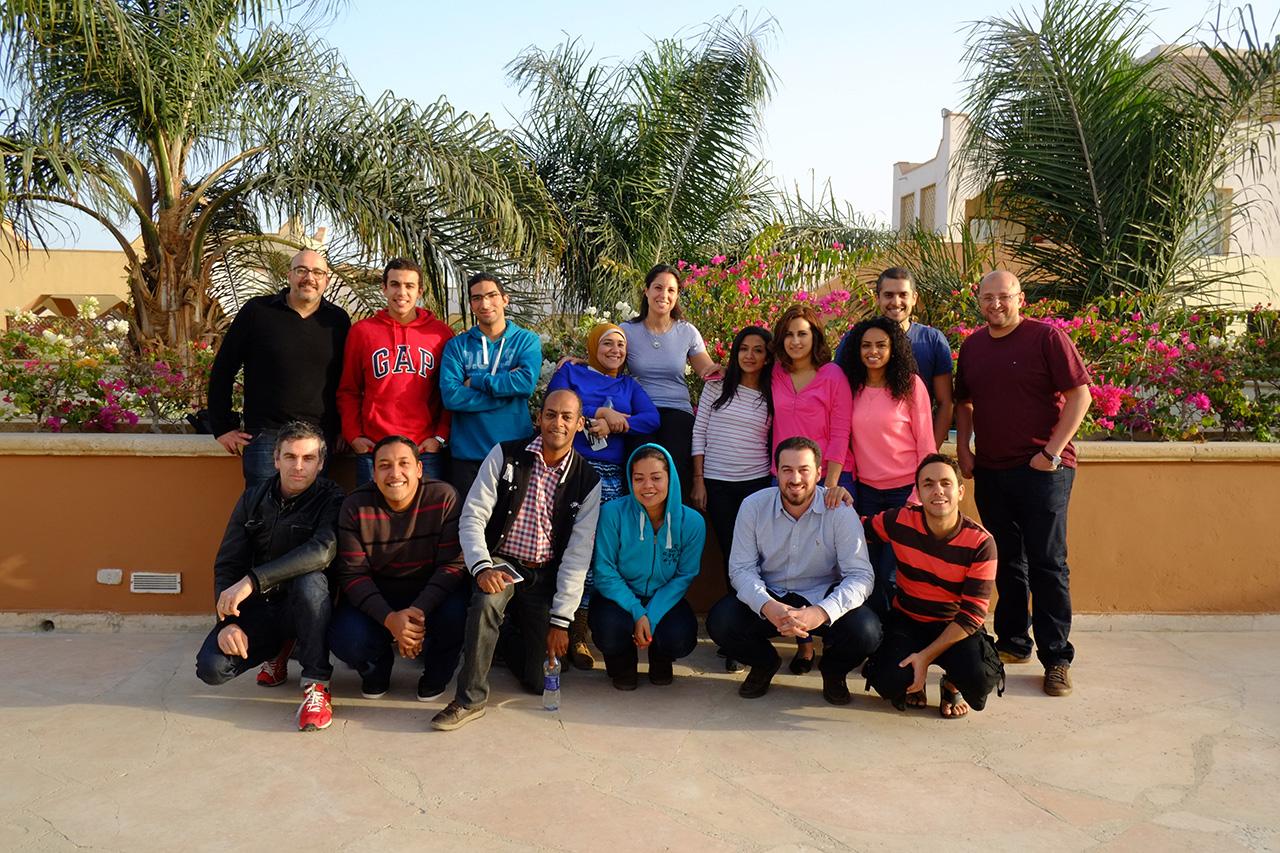 Rise Egypt team photo