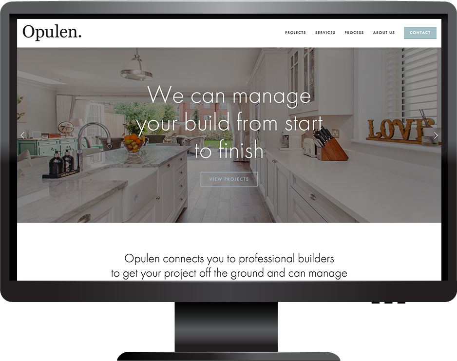 Squarespace property website