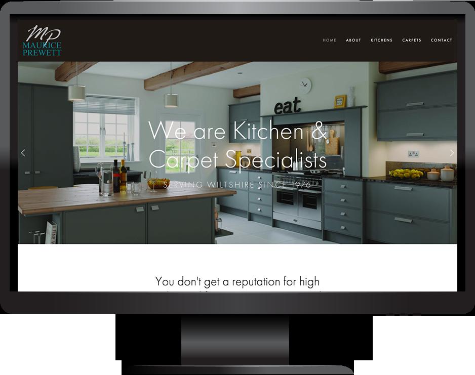 Squarespace Kitchens Website