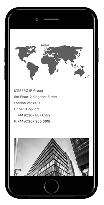 Squarespace business services website