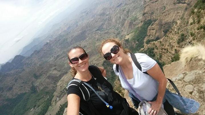 Donna Bateman in Ethiopia