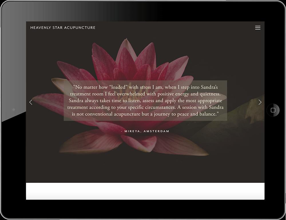health and wellness website squarespace