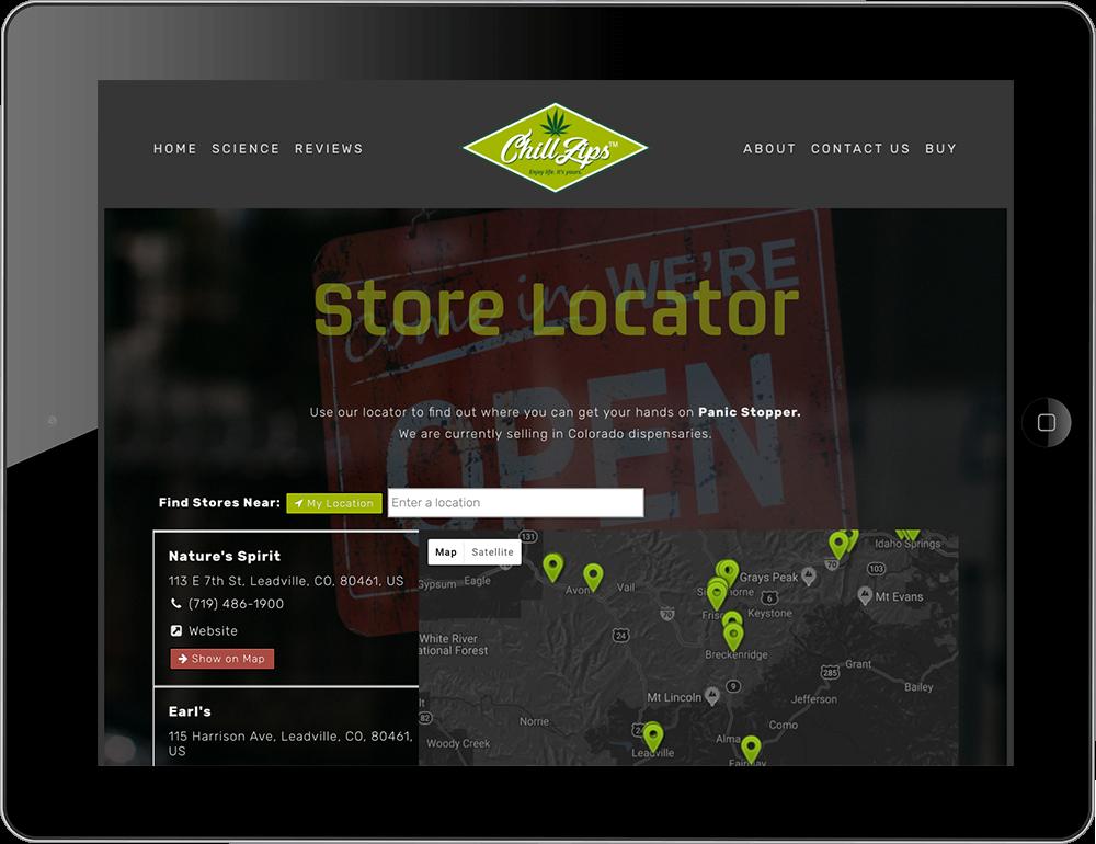 Store Locator Squarespace