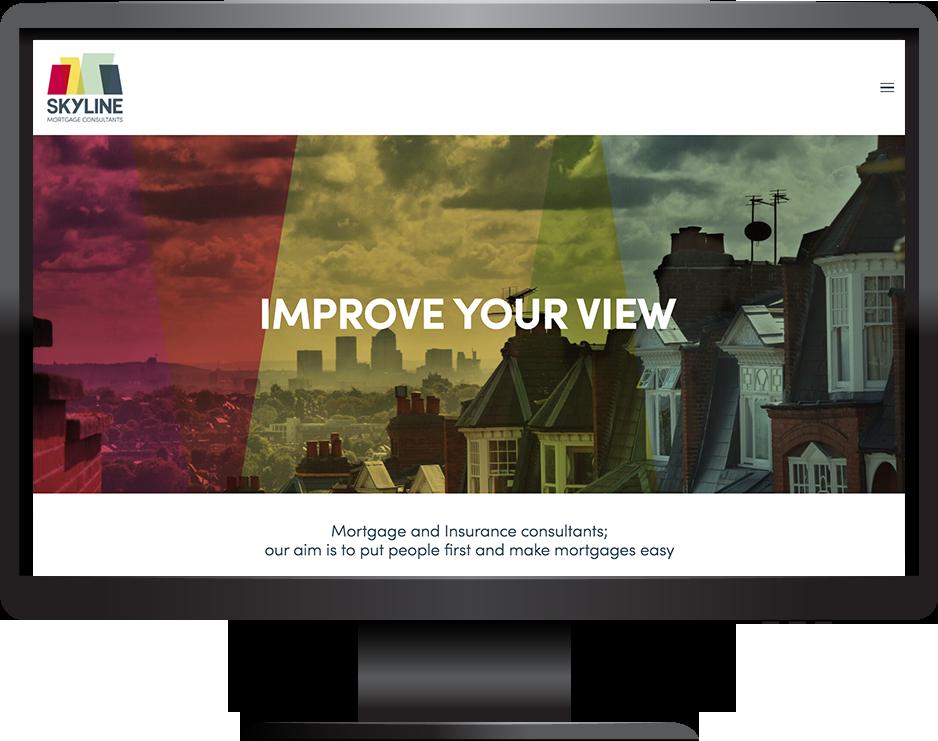 Mortgage advisor Squarespace website