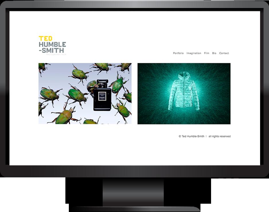 Ted Humble-Smith Squarespace photography portfolio