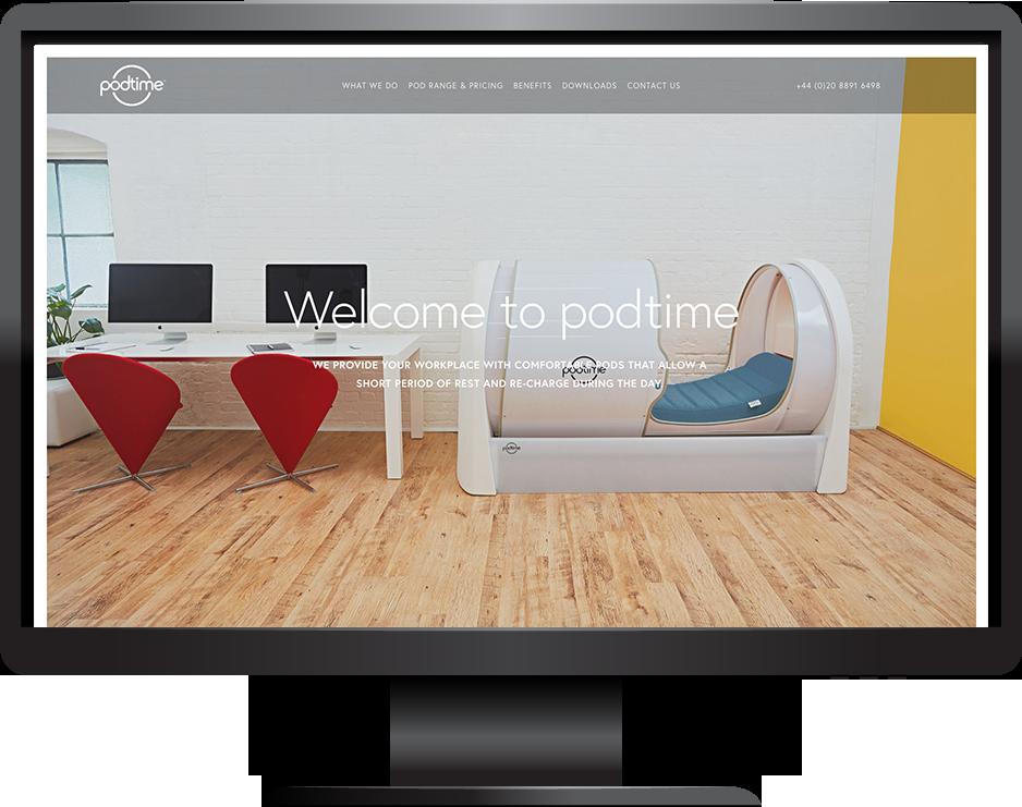 Brine template e-commerce website