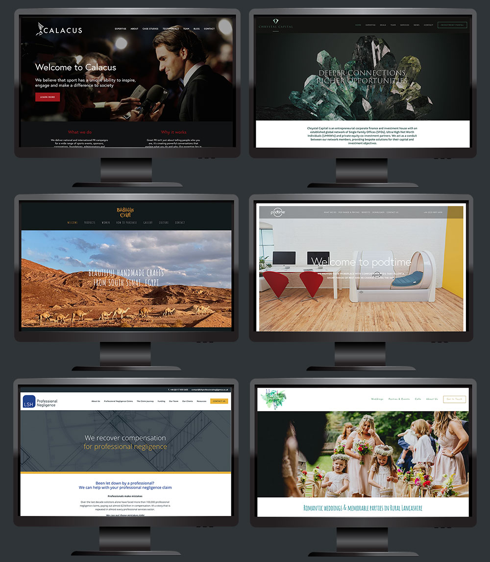 Squarespace web designers London and Bath
