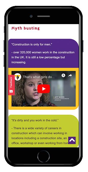 Public sector Squarespace website UK