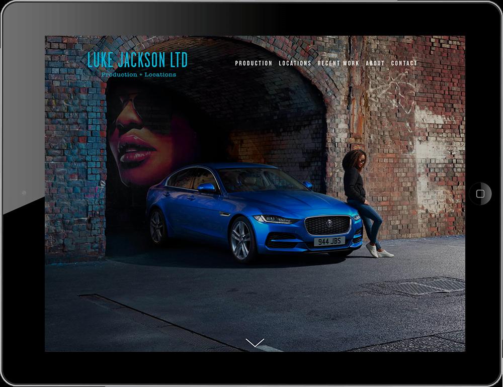 Film location websites built with Squarespace