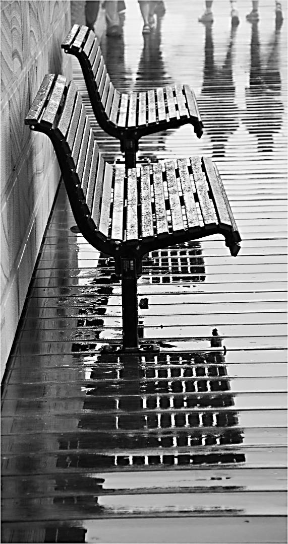 In the Rain by Margaret Miller