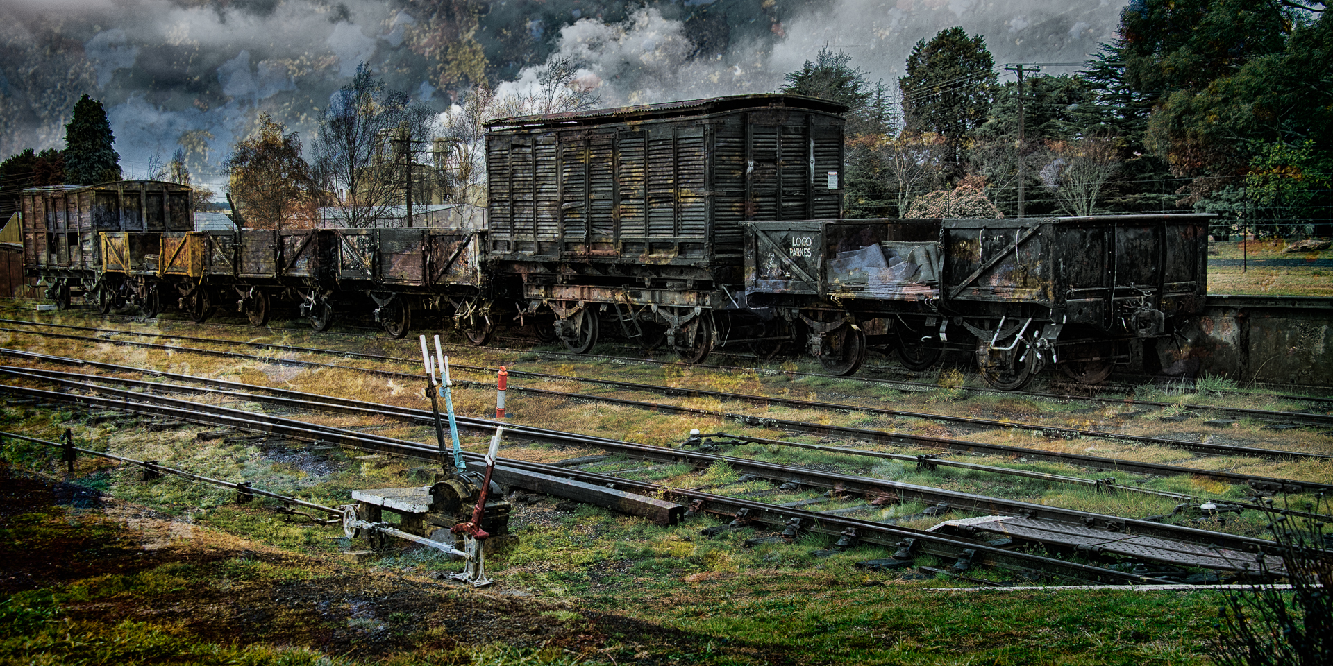 Rail Trucks, Oberon NSW (c)Michael Smyth