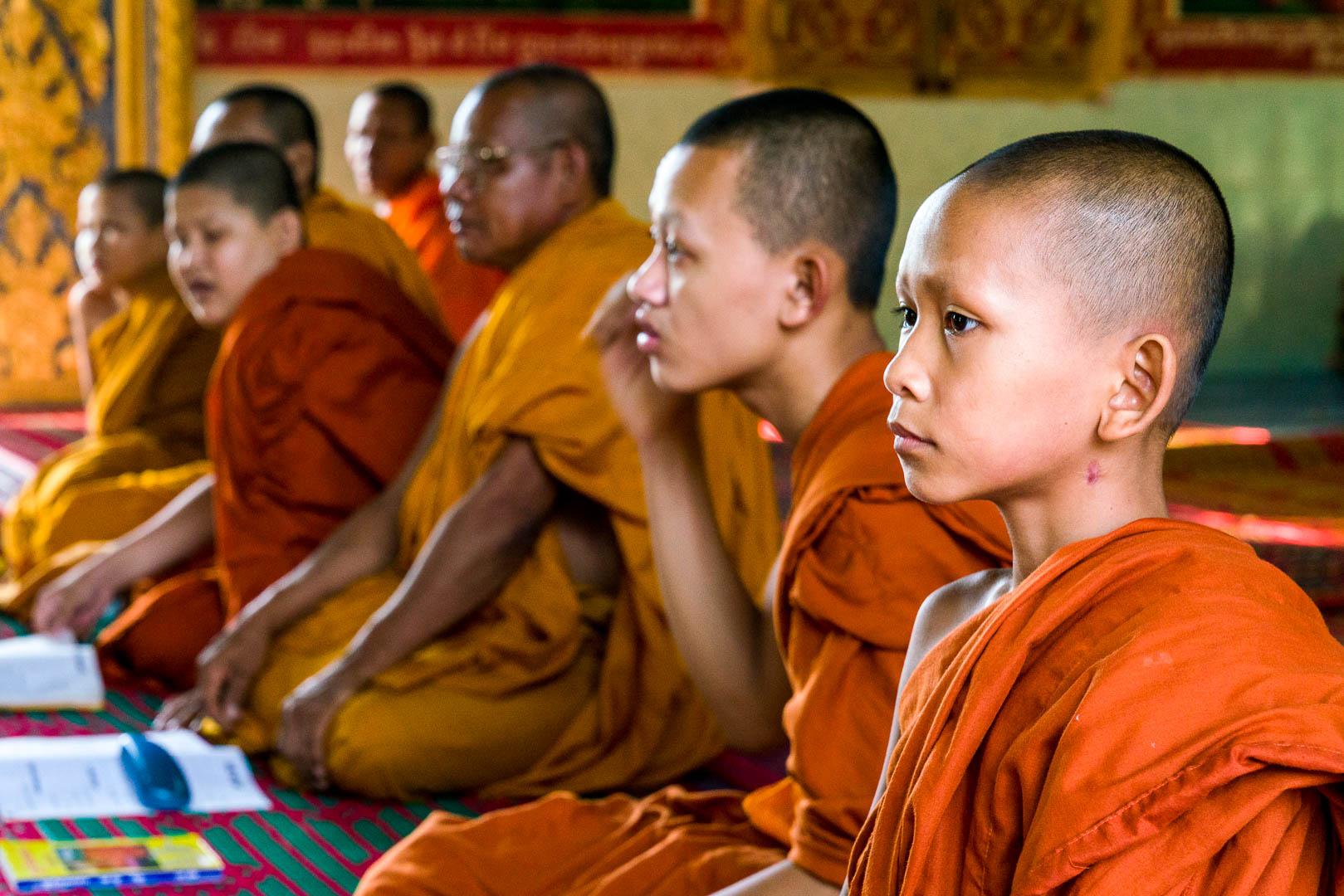 (c) Steven Adelstein: Monks in Battambang Cambodia