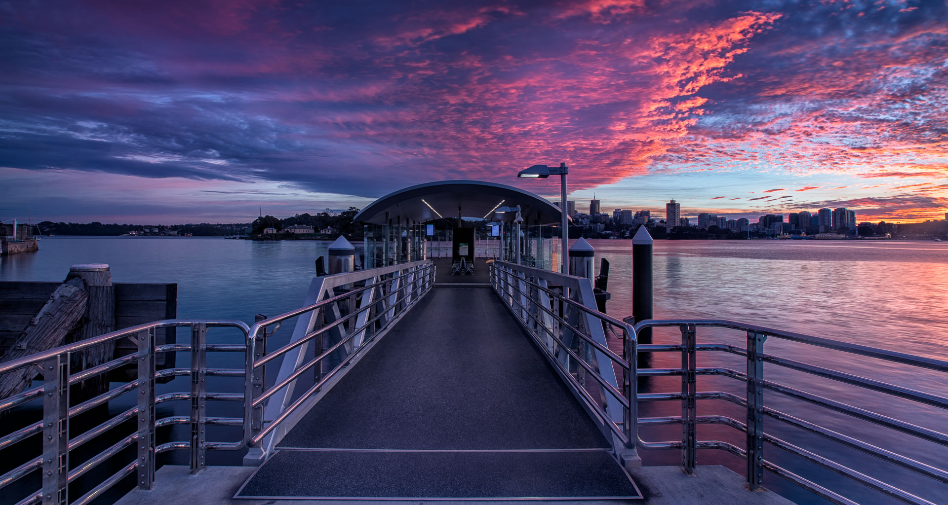 (c) Jacci SchippBenz: Sydney Sunrise