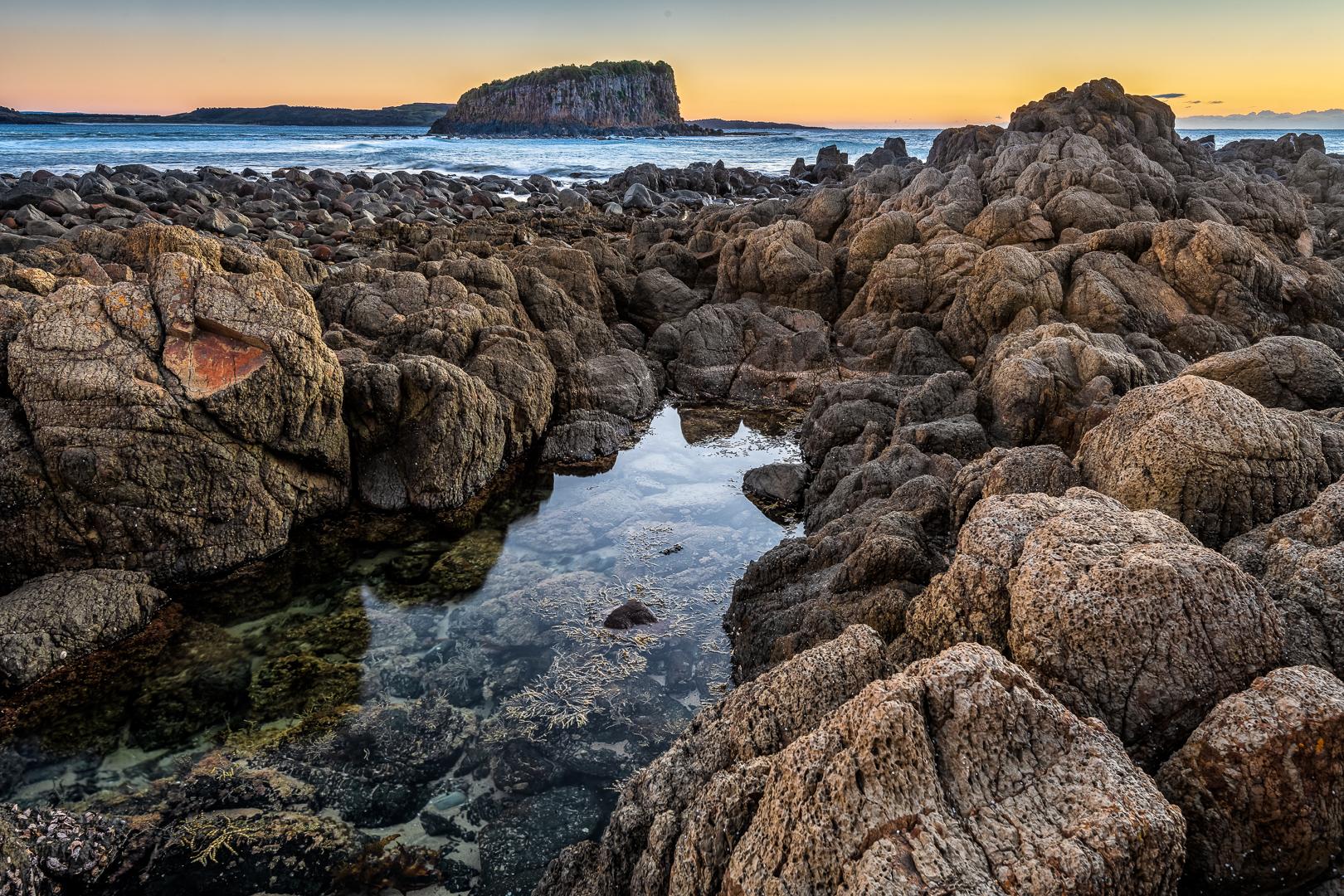 Minnamurra rocks at dawn (c) Michael Smyth 2018