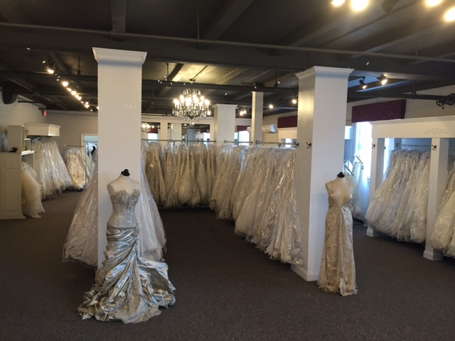 View of New Church Street Bridal Shop.