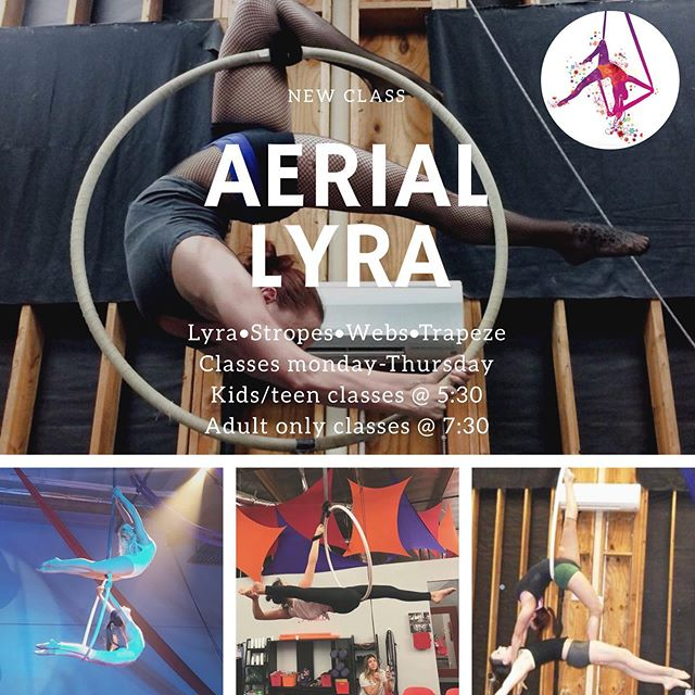 Our new class schedule starts today! Try a new apparatus! Lyra is a really fun act! Our new schedule is on our website! Link in our bio! • • • #aapaf #aeriallyra #lyra #aeriallear #lear #aerialhoop #hoopclass #aerial #aerialist #circus #circusclasses #redlands #redlandscircus #kidsclasses #afterschool #stayfit #fitness #fitnessclasses #acrobats #acrobatics