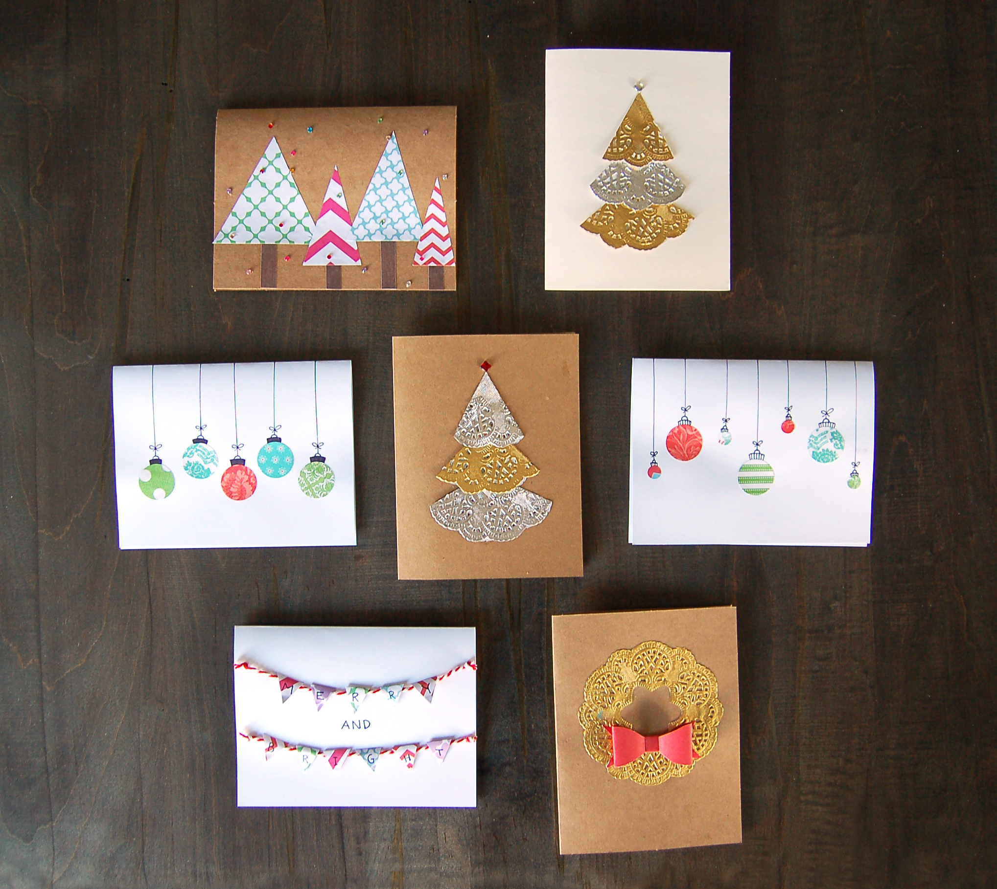 DIY Holiday Card Kit