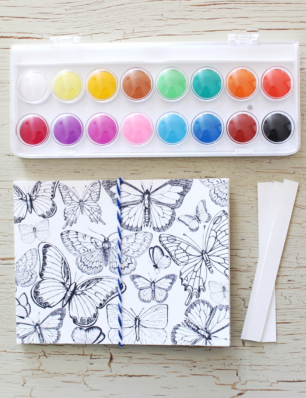 DIY Watercolour Cards