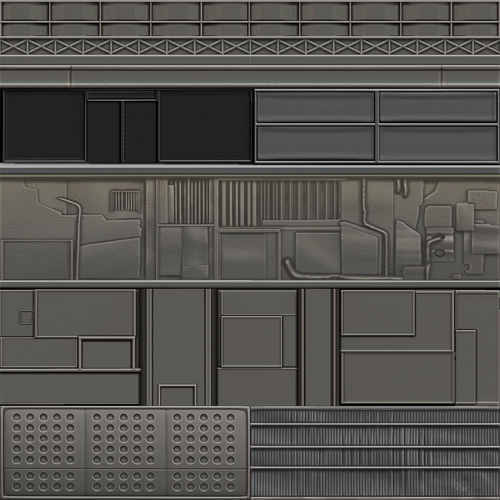 Modelled in Maya/Zbrush render in Zbrush.