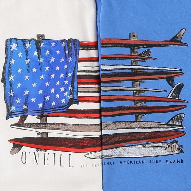 Get some waves on the 4th of July! Have a look at more   surf tee designs  .