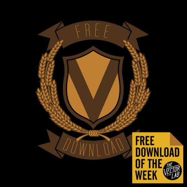 Use this  Vector Crest  to give your designs some heraldry flavor. EPS file works in Adobe Illustrator or Photoshop.