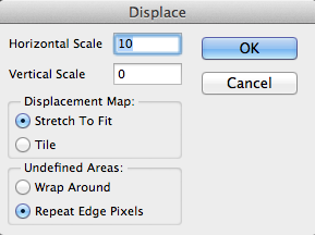 Displacement Map Settings