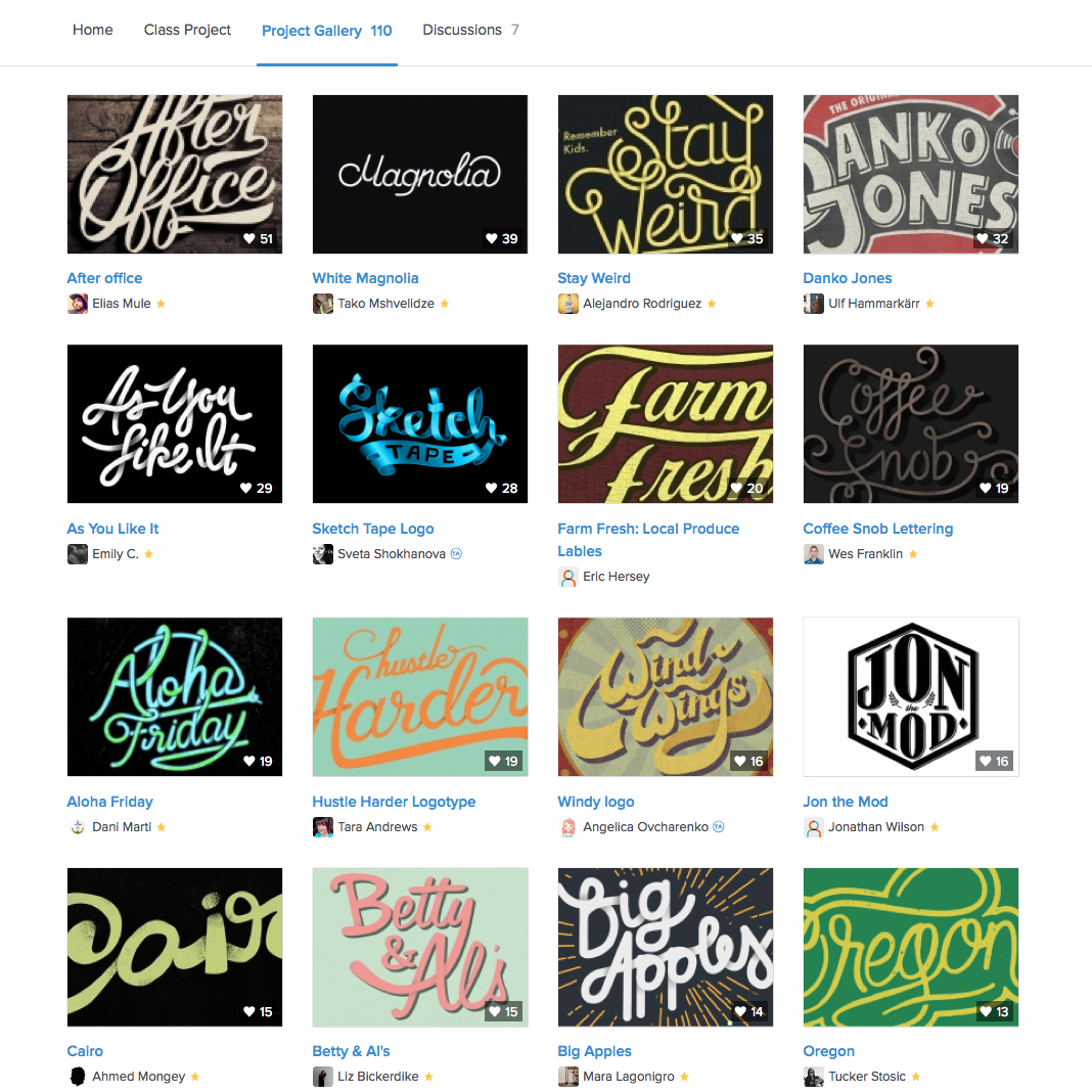 Typographic Logos Class: Typography and Lettering for Logo Design